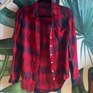 Aeropostale Red Flannel